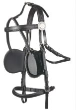 Zilco Shetland/Small Pony Quick Hitch Driving Set with Deluxe Bridle